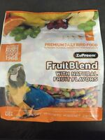 Zupreem Fruitblend L Avian Diet Pellet Parrot Food 2lb Macaw Cockatoo Amazon