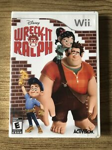 Wreck-it-Ralph-Wii-Nintendo-Wii-Complete-W-box-amp-Manual