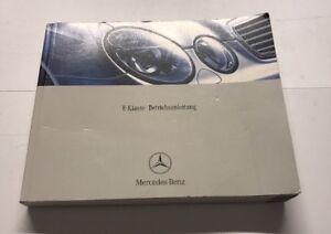 Mercedes-W211-E-Class-Owners-Manual-In-German-Pre-Facelift-Betriebsanleitung