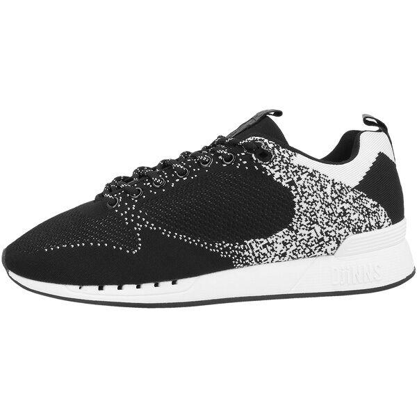 Djinn's Easy Run Gator Knit Schuhe Sport Freizeit Sneaker black Djinns LowLau