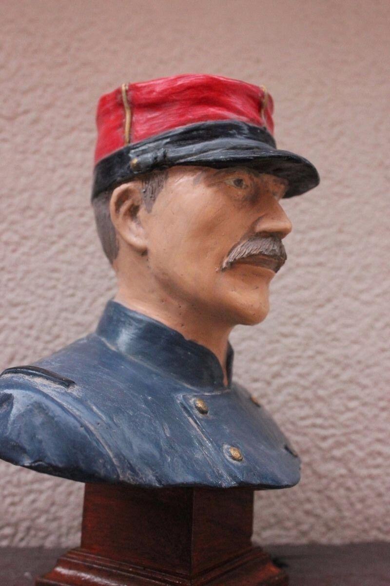 Buste  d'un Soldat Français de 14 en tenue M-1870  Fabrication France