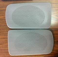 toyota camry 2002 2006 gray replacement rear speaker grille covers factory oem ebay. Black Bedroom Furniture Sets. Home Design Ideas