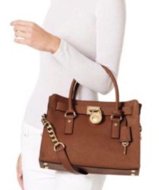 9f71cd7358c3 Michael Michael Kors Luggage Hamilton East West Satchel for sale online