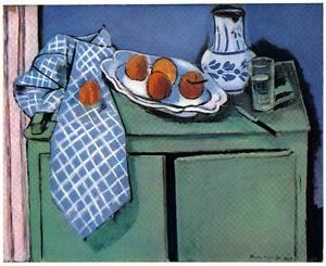 MATISSE-SIGNED-1939-LITHOGRAPH-w-COA-Unique-Henri-Matisse-print-VERY-RARE-ART
