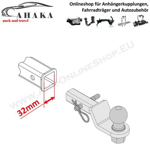 1-1//4 inch Receiver 32x32mm AHK US Fahrzeuge Adapter für Ford F150