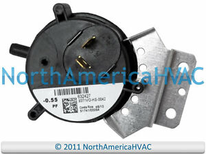 Furnace Air Pressure Switch Mpl 9371 V 0 55 Deact N O Ebay