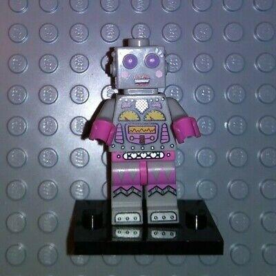 New Genuine LEGO Lady Robot Minifig Series 11 71002