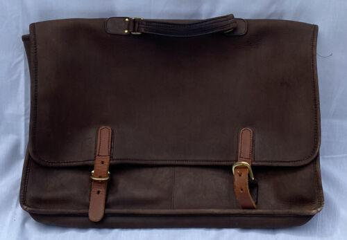 Vintage 1970s COACH Leather Soft Briefcase