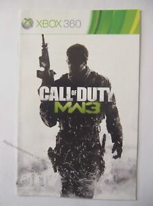 49713-Instruction-Booklet-Call-Of-Duty-Modern-Warfare-3-Microsoft-Xbox-360