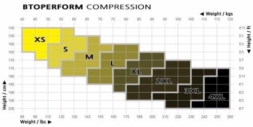 BTOPERFORM Compression Skin Tights Base layer Spats Rash guard MMA BJJ FY-103W