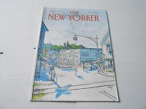 JULY-6-1981-THE-NEW-YORKER-vintage-magazine-PARADE-STREET-SCENE
