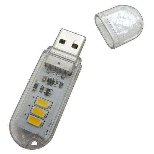 Chiave USB Luce//Lampada 1,5 Watt con Lampada Torcia USB Lampada