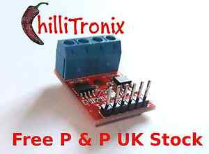 Dual-H-Bridge-L9110-motor-stepper-control-for-Arduino-Raspberry-Pi-PIC-UK-Stock