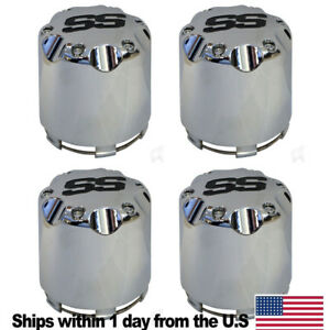 4 Pcs New Chrome Center Caps For Golf Carts Fits For Club Car Ezgo Cart Wheels Ebay