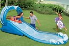 Intex 15ft Water Slide Childrens Kids Inflatable Paddling Splash Pool Spray