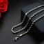 Hot-man-women-316L-Stainless-Steel-2mm-3mm-4mm-5mm-Silver-Rope-Chain-Necklace thumbnail 1