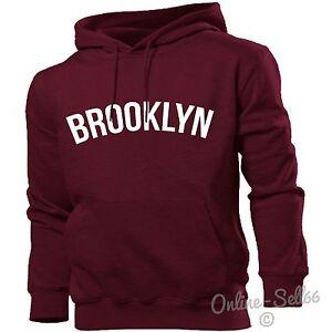 b0e8013e0 Brooklyn Hoodie Men Women Kids New York City Nyc America   eBay
