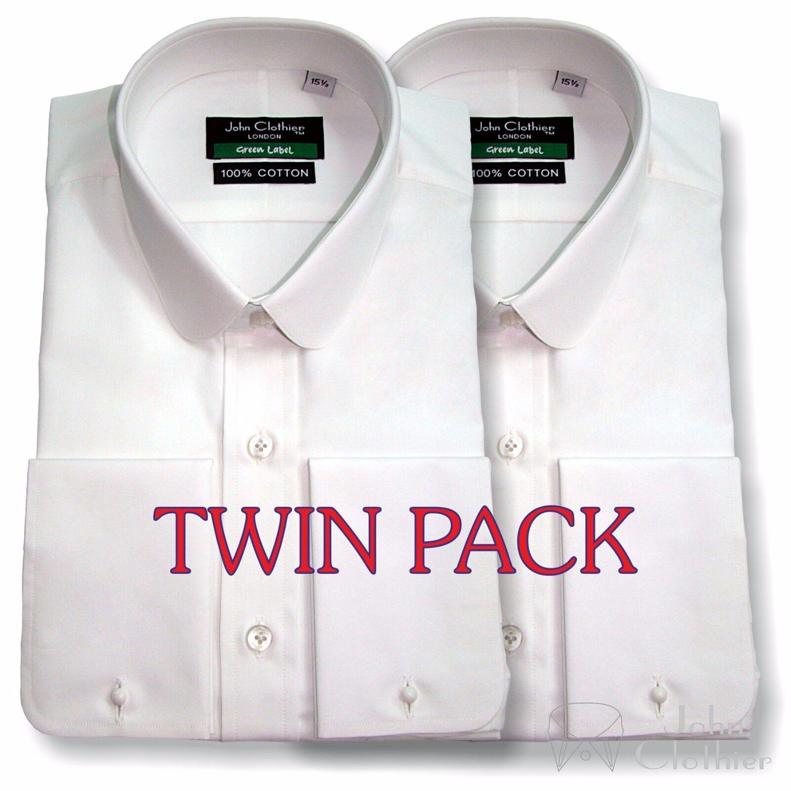 Penny halsband baumwolle hemd Pack of 2 Penny Club halsband Peaky Blinders Multi pack