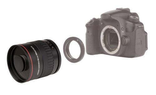 Canon EOS 550d 500d 450d 400d 350d 300d 1300d 700d 6d nuevo!!! Teleobjetivo 900mm F