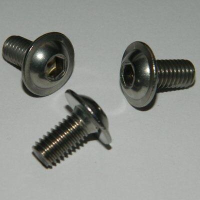 M5 mm Innensechskant 10 St Edelstahl Linsenflanschschrauben M 5x35 A2