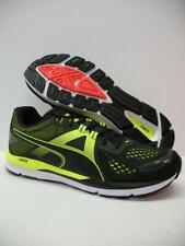 PUMA 189081 Speed 500 Ignite Running Training Shoes Sneakers Black Mens 9.5