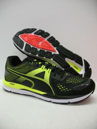 New PUMA 188517 Speed 600 Ignite Running Training Shoes Sneakers Black Mens 11