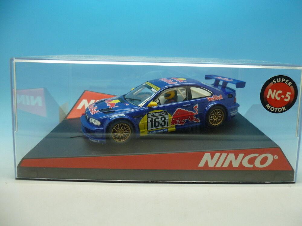 Ninco 50350 BMW M3 GTR Red Bull, mint unused