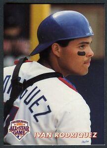 Ivan Rodrigueztexas Rangers 1992 Mlb All Star Game Oddball