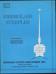 Bowling-United-Industries-Fiberglass-Steeples-Sales-Brochure-Catalog