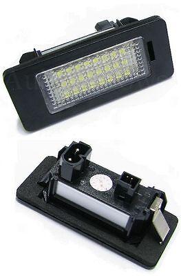 LED SMD Kennzeichenbeleuchtung für 5er BMW E39 E60 E61 E84 X5 6 TÜV-FREI *NEU*