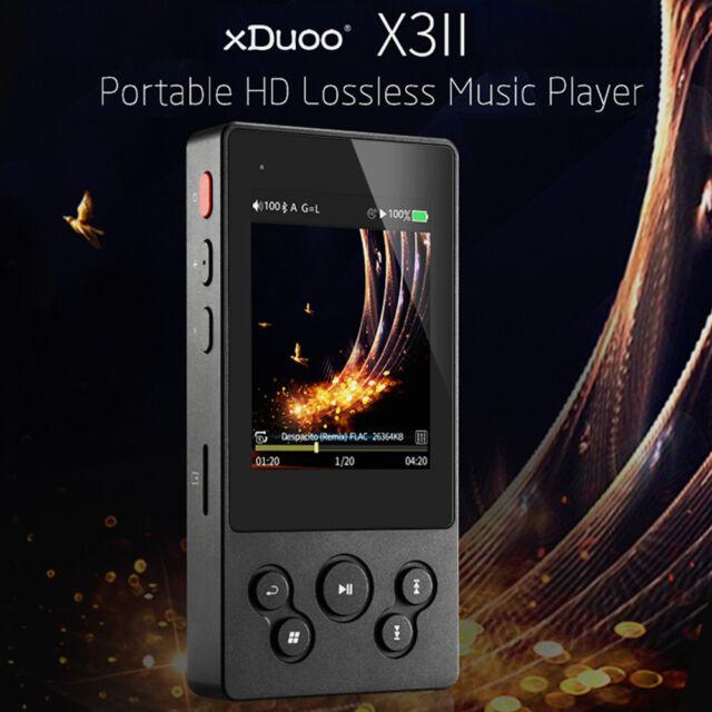 xDuoo X2 Professional MP3 HIFI Music Player OLED Screen MP3 WMA APE FLAC WAV