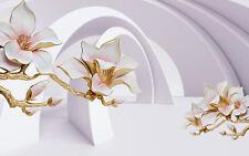 VLIES Fototapete-ABSTRAKT DESIGN- 2104V -3D Kugeln Perle Ziegel Diamanten Perle