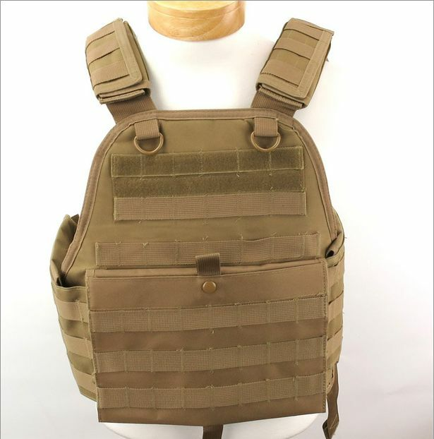NCSTAR CVPCV2924T MED-2XL  PLATE CARRIER TACTICAL VEST CHEST RIG MOLLE PALS TAN  factory outlet