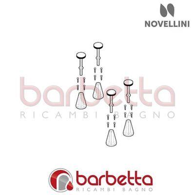 Confezione 4 Piedini Glax Novellini R05pi10019kph Matige Prijs
