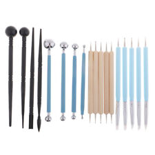 13PCS Ball Stylus Dotting Tools Clay Pottery Modeling Rock Painting Flowers DYDY