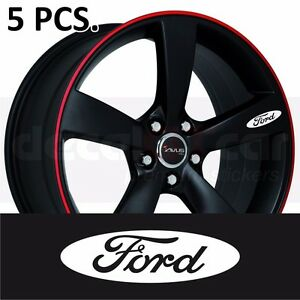 Ford Door Handle Wheel Sticker Decal Fiesta Focus Mustang