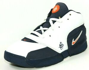 Nike-Huarache-64-PS-313458-411-Basketball-Boys-Shoes-Leather-White-Blue-Rare