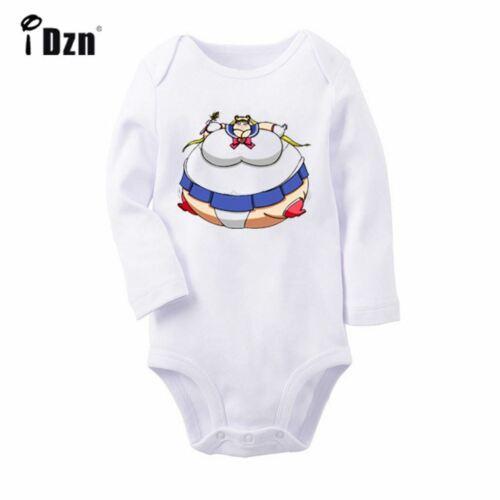 Planet Poly Sailor Moon Newborn Jumpsuit Baby Romper Bodysuit Long Sleeve Outfit