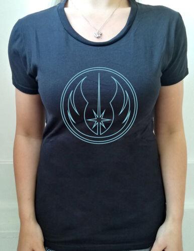 Star Wars Jedi Order Logo Adultes à capuche Geek T-shirt femme