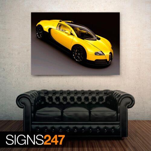 Poster Print Art A0 A1 A2 A3 A4 0311 BUGATTI VEYRON GRAND SPORT Car Poster