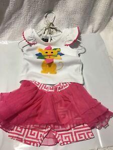 b066b03e08 New Mud Pie SAFARI LION Tutu Skirt Girls Size 9-12 Months Boutique 2 ...
