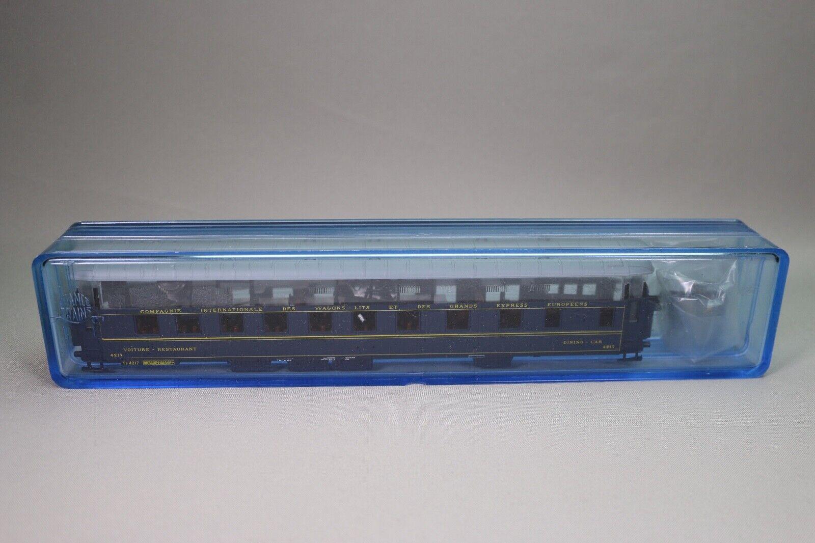 ZA1349 FRANCE i treni Voiture Ho 301K Kit a monter Wagon restaurant CIWL 4217