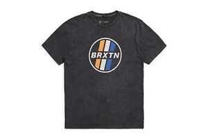 BRIXTON-SONIC-T-SHIRT-NEU-BLACK-ACID-WASHED-GR-M-BRIXTON-SUPPLY