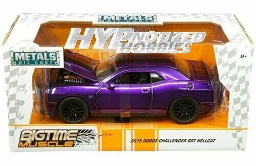 Big Time Muscle 1:24 RC 2015 Dodge Challenger SRT Hellcat Jada Toys
