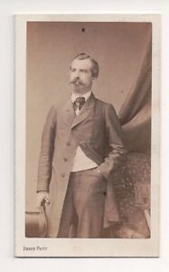 Vintage-CDV-Unidentified-Gentleman-Pierre-Petit-Photo-Paris-F22
