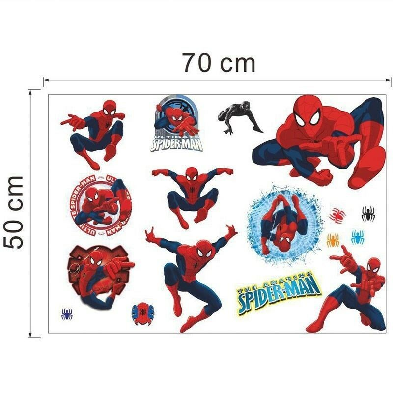 Wallstickers, Spiderman