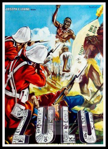 Zulu 2  British Movie Posters Classic /& Vintage  Films