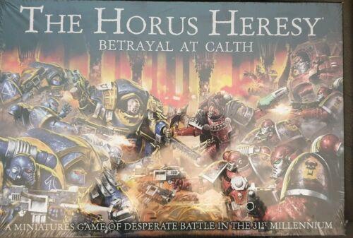 Horus Heresy traición en calth Box Games Workshop.
