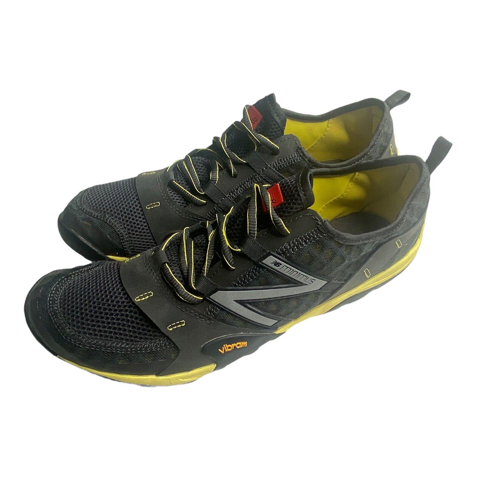 New Balance MT10GG Men's Athletic Shoe Sz 11 Black Yellow