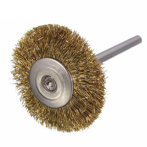 Mini Brass Wire Cup Wheel Polishing Brushes for Grinder Drill Rotary Tool Vogue
